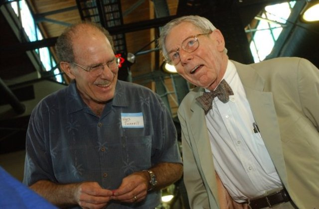 Ed Harte and Dr. Wes Tunnell, from the Corpus Christi Caller-Times.