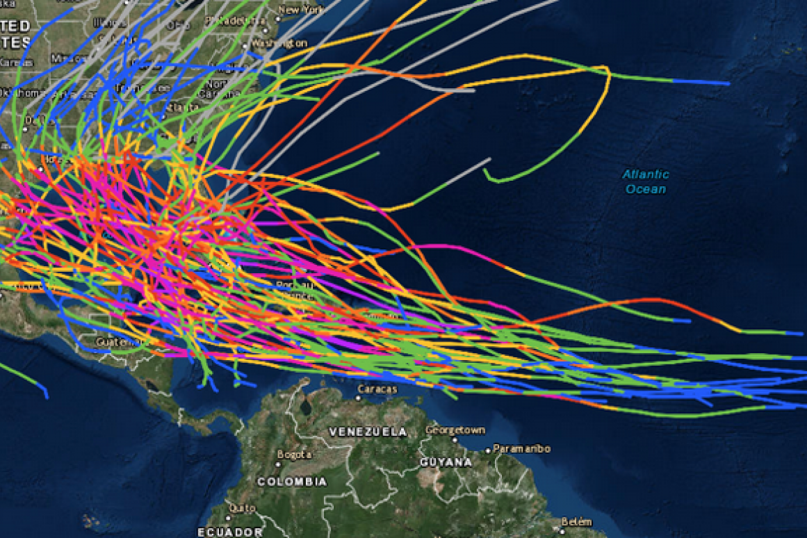 150 years of hurricanes