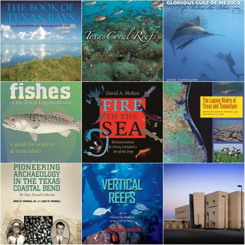 Gulf Coast Book Series collage