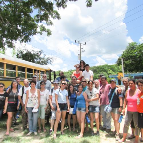 Group photo Cuba